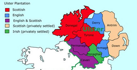 ulster map