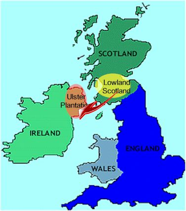 IX  The Scots in Ulster