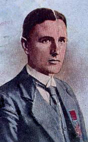 James Youll Turnbull as depicted on a cigarette card